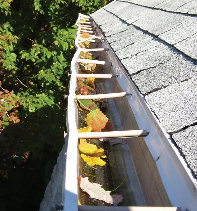 Eavestrough Maintenance in the Fall