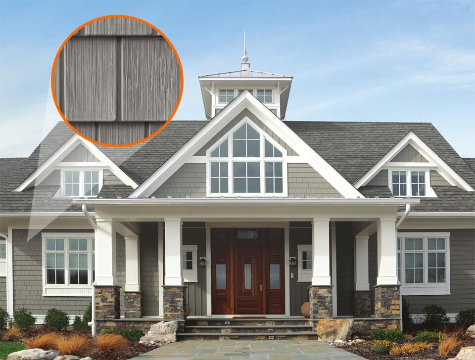 Vinyl is a popular siding option for many homes