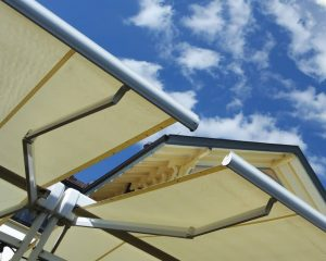 Shade Sail to the Roof