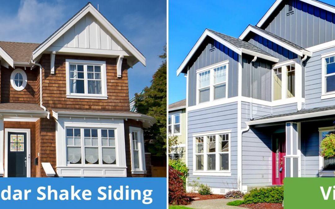 Cedar Shake Siding VS Vinyl Siding: Is Cedar Siding Better Than Vinyl?