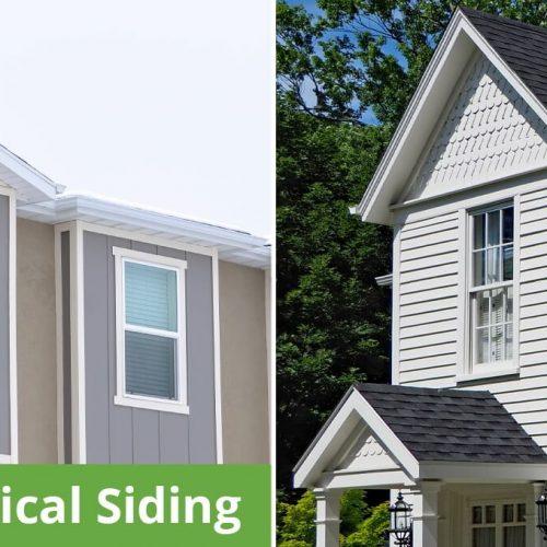 Vertical or Horizontal Siding